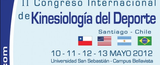 Kinesiólogos de Kinesis RyD exponen en II Congreso Internacional de Kinesiología del Deporte.