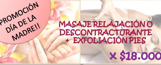 PROMOCIONES DÍA DE LA MADRE: PARA RELAJARSE!!!